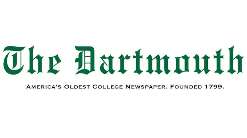 The Dartmouth masthead