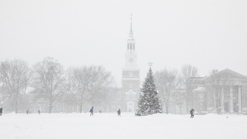Campus in the Winter