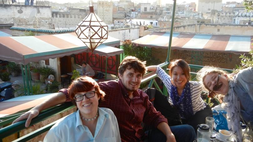 Sun on balcony