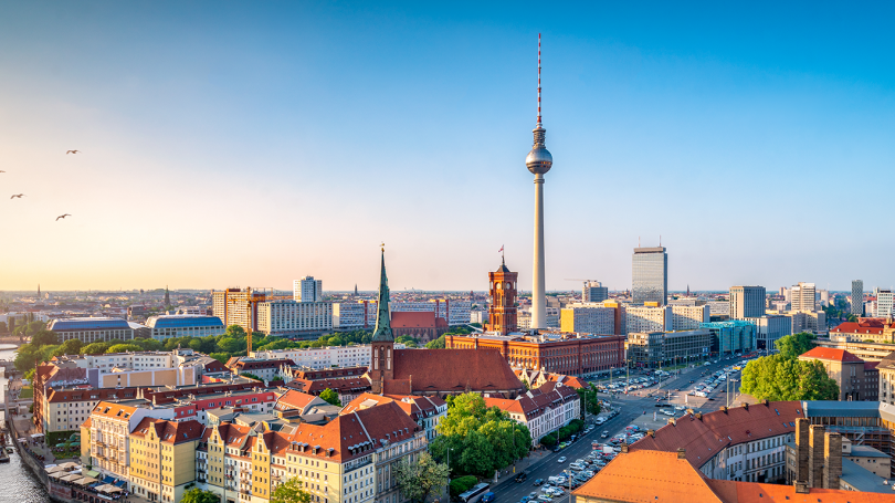 "Applications are being accepted for ""Green City: Sustainable Engineering in Berlin,"" pictured above. The program, planned for spring 2022, is the first study-abroad offering between the Department of German Studies and Thayer School of Engineering."