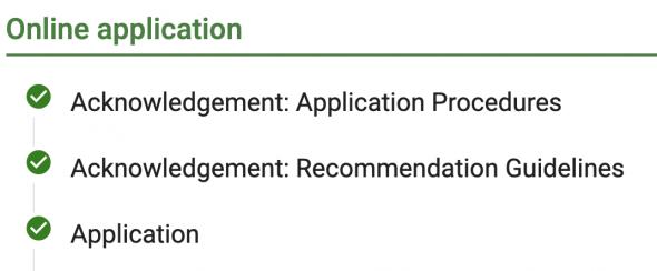 Terra Dotta Application Checkmarks